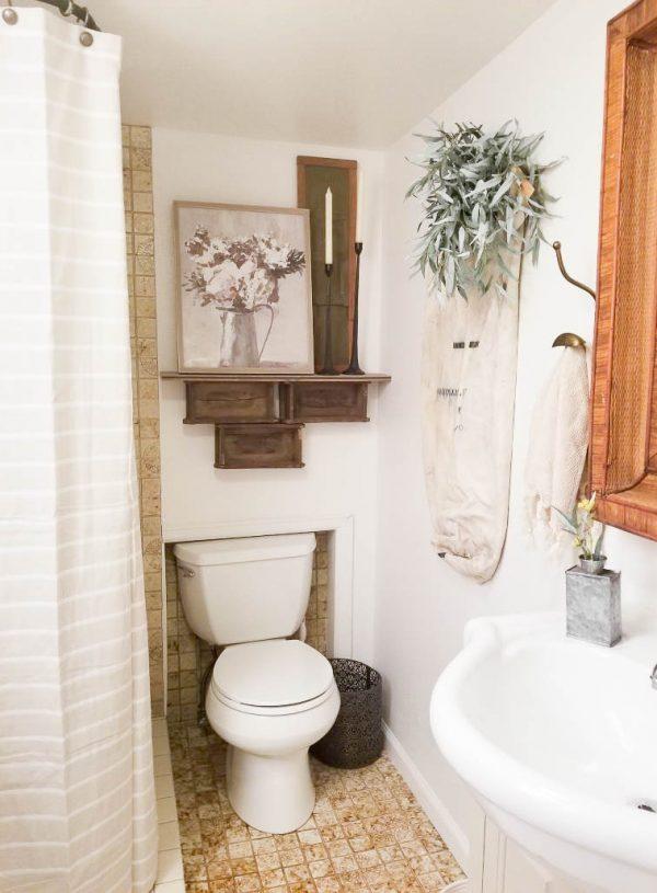 Our Simple DIY Bathroom Refresh